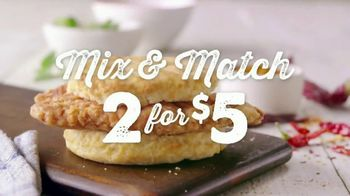 Bojangles' Filet Biscuits TV Spot, 'Mix & Match' - Thumbnail 2