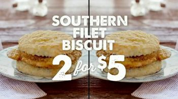 Bojangles' Filet Biscuits TV Spot, 'Mix & Match' - Thumbnail 4