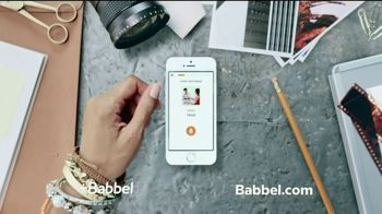 Babbel TV Spot, 'As An App or Online' - Thumbnail 1