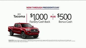2019 Toyota Tacoma TV Spot, 'Presidents Day: Legendary' [T2] - Thumbnail 2