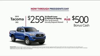 2019 Toyota Tacoma TV Spot, 'Presidents Day: Legendary' [T2] - Thumbnail 3