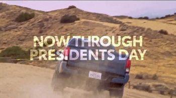 2019 Toyota Tacoma TV Spot, 'Presidents Day: Legendary' [T2] - Thumbnail 4