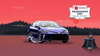 Toyota Presidents Day Sales Event TV Spot, 'Time Is Running Out' [T2] - Thumbnail 5