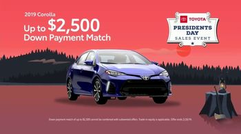 Toyota Presidents Day Sales Event TV Spot, 'Time Is Running Out' [T2] - Thumbnail 6