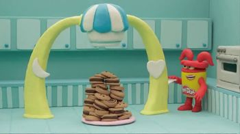 Play-Doh Sprinkle Cookie Surprise Playset  TV Spot, 'Crazy Cookies' - 884 commercial airings
