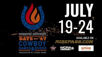 Professional Bull Riders TV Spot, '2019 Days of '47 Cowboy Games & Rodeo' - Thumbnail 9