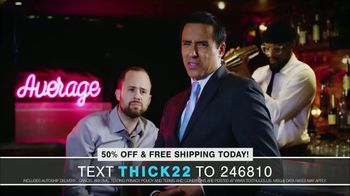 THICK HEAD TV Spot, 'Your Hair Can Say a Lot About You: 50 Percent Off' - Thumbnail 6