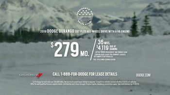 Dodge Presidents Day Sales Event TV Spot, 'Winter: Go Out' [T2] - Thumbnail 8