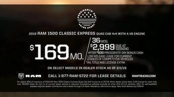 Ram Trucks Presidents Day Sales Event TV Spot, 'Deals Like No Other' [T2] - Thumbnail 6