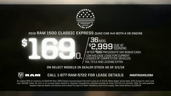 Ram Trucks Presidents Day Sales Event TV Spot, 'Deals Like No Other' [T2] - Thumbnail 9