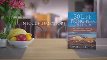 In Touch Ministries 30 Life Principles Bible Study TV Spot, 'The Ultimate Guide' - Thumbnail 9