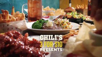 Chili's 3 for $10 TV Spot, 'Aunt Nancy' - Thumbnail 1