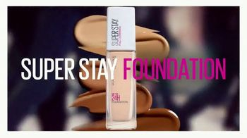 Maybelline New York Super Stay Foundation TV Spot, 'Full Coverage That Doesn't Quit' - Thumbnail 10