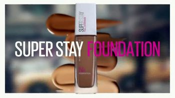 Maybelline New York Super Stay Foundation TV Spot, 'Full Coverage That Doesn't Quit' - Thumbnail 3