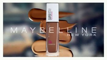 Maybelline New York Super Stay Foundation TV Spot, 'Full Coverage That Doesn't Quit' - Thumbnail 4