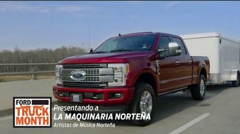 Ford Truck Month TV Spot, 'La mejor selección' con La Maquinaria Norteña [Spanish] [T2]