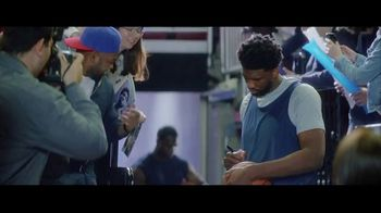 Hulu TV Spot, 'Hulu Has Live Sports' Featuring Joel Embiid - Thumbnail 1