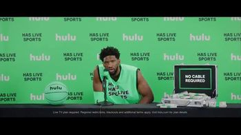 Hulu TV Spot, 'Hulu Has Live Sports' Featuring Joel Embiid - Thumbnail 9