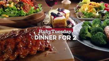 Ruby Tuesday Dinner for Two TV Spot, 'Your New Favorite' - Thumbnail 2
