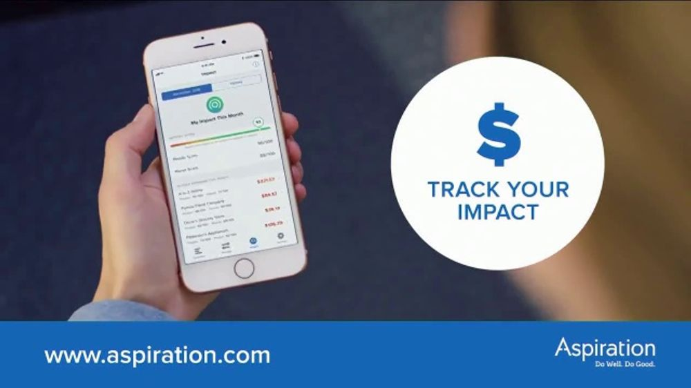 Aspiration TV Commercial, 'Track Your Impact'