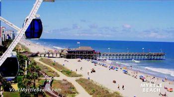 Myrtle Beach Area Convention & Visitors Bureau TV Spot, 'Winter Blues' - Thumbnail 8