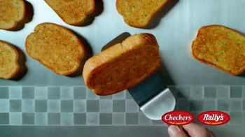Checkers & Rally's Texas Toast Garlic Bread Doubles TV Spot, 'Four Greatest Words Ever' - Thumbnail 2