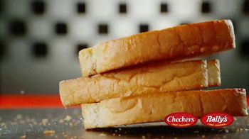 Checkers & Rally's Texas Toast Garlic Bread Doubles TV Spot, 'Four Greatest Words Ever' - Thumbnail 8