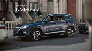2019 Hyundai Santa Fe TV Spot, 'Safe Exit Assist' [T2] - Thumbnail 3