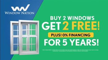 Window Nation TV Spot, 'Selecting Windows: Buy Two, Get Two' - Thumbnail 9