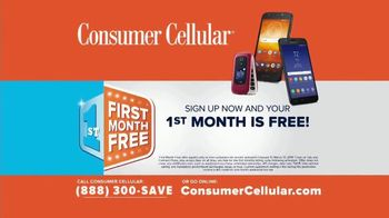 Consumer Cellular TV Spot, 'Slice of Pizza' - Thumbnail 6