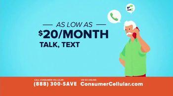 Consumer Cellular TV Spot, 'Slice of Pizza' - Thumbnail 2