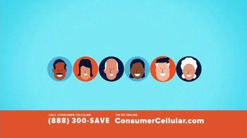 Consumer Cellular TV Spot, 'Slice of Pizza' - Thumbnail 3