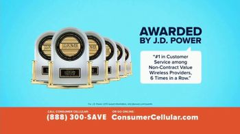 Consumer Cellular TV Spot, 'Slice of Pizza' - Thumbnail 4