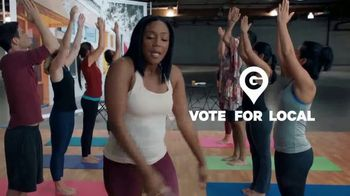 Groupon TV Spot, 'Vote For Local: Yoga Poses' Featuring Tiffany Haddish - Thumbnail 7