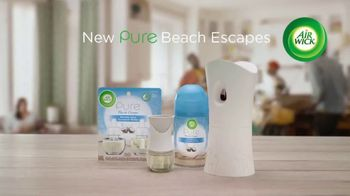 Air Wick Pure Beach Escapes TV Spot, 'Fresh Like the Beach' - Thumbnail 10