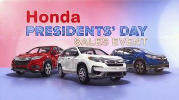 Honda Presidents Day Sales Event TV Spot, 'Savings on SUVs' [T2] - Thumbnail 8