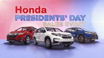 Honda Presidents Day Sales Event TV Spot, 'Savings on SUVs' [T2] - Thumbnail 2