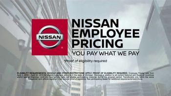 Nissan Employee Pricing TV Spot, 'Seamless Transition' [T2] - Thumbnail 6