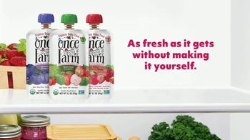 Once Upon a Farm TV Spot, 'Fresh From the Farm: Baby Food' - Thumbnail 9