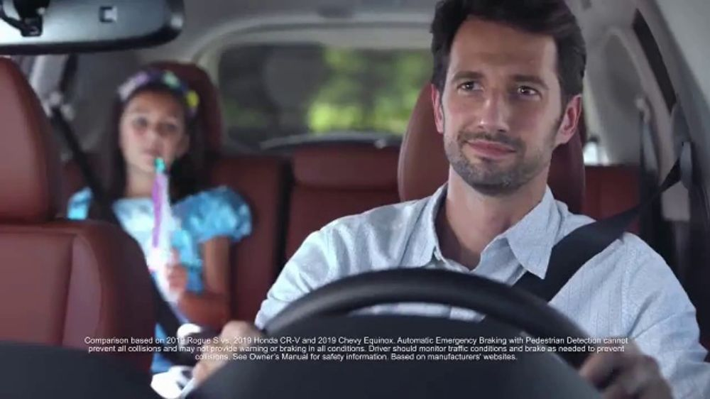2019 Nissan Rogue TV Commercial, 'Protect What's Important ...