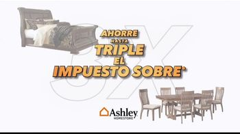 Ashley HomeStore TV Spot, 'Ahorra hasta el triple' [Spanish] - Thumbnail 1
