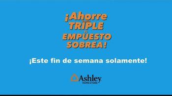 Ashley HomeStore TV Spot, 'Ahorra hasta el triple' [Spanish] - Thumbnail 5