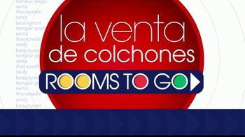 Rooms to Go La Venta de Colchones TV Spot, 'Juegos de colchones' [Spanish] - Thumbnail 1