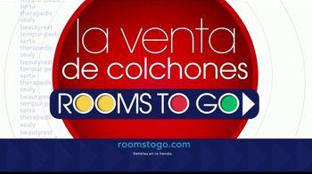 Rooms to Go La Venta de Colchones TV Spot, 'Cama completa' [Spanish] - Thumbnail 6