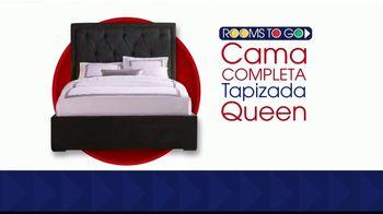 Rooms to Go La Venta de Colchones TV Spot, 'Cama completa' [Spanish] - Thumbnail 1