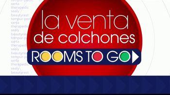 Rooms to Go La Venta de Colchones TV Spot, 'Ahorra $600 dólares' [Spanish] - Thumbnail 1