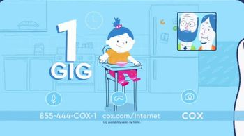 Cox High Speed Internet TV Spot, 'Plans That Fit Your Life: 1 GB' - Thumbnail 7