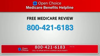 Open Choice Medicare Benefits Helpline TV Spot, 'Additional Medicare Covered Benefits'
