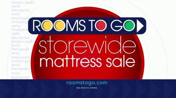 Rooms to Go Storewide Mattress Sale TV Spot, 'Your Bed, Your Choice' - Thumbnail 7