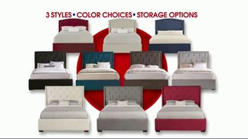 Rooms to Go Storewide Mattress Sale TV Spot, 'Your Bed, Your Choice' - Thumbnail 3